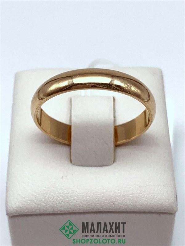 Кольцо из золота 3,47 гр., 20 размер - фото 29637