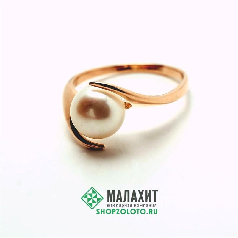 Кольцо из золота 2,81 гр., 18,5 размер - фото 42202