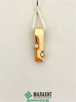 Подвеска из золота 0,78 гр.