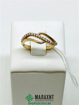 Кольцо из золота 2,08 гр., 16,5 размер