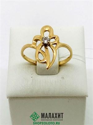 Кольцо из золота 1,99 гр., 18 размер