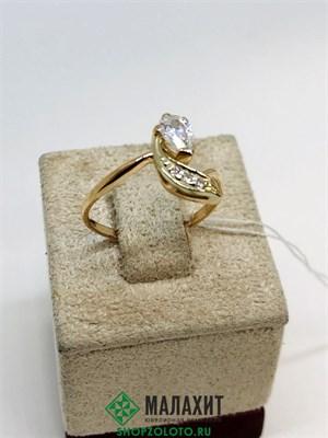 Кольцо из золота 1,89 гр., 17 размер