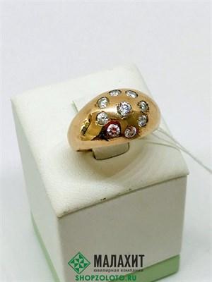 Кольцо из золота 6,96 гр., 17 размер