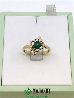 Кольцо из золота 2,19 гр., 17 размер