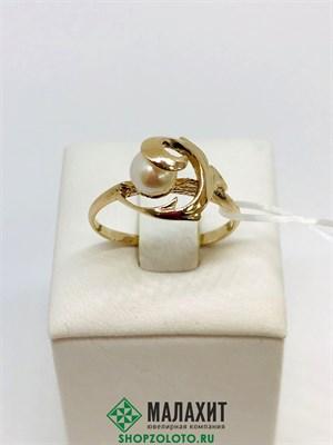 Кольцо из золота 2,18 гр., 17,5 размер