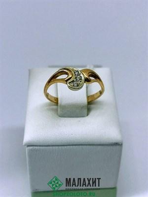Кольцо из золота 1,88 гр., 16,5 размер