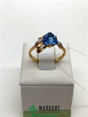 Кольцо из золота 2,41 гр., 18,5 размер