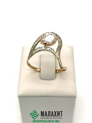 Кольцо из золота 2,46 гр., 19 размер