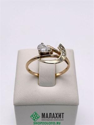 Кольцо из золота 2,21 гр., 18,5 размер