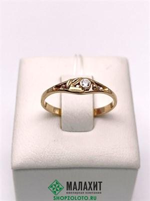 Кольцо из золота 1,09 гр., 16,5 размер
