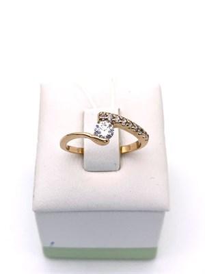 Кольцо из золота 1,68 гр., 16,5 размер