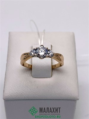 Кольцо из золота 1,63 гр., 15,5 размер