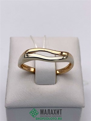 Кольцо из золота 2,8 гр., 19 размер