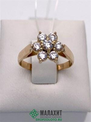 Кольцо из золота 2,38 гр., 16 размер