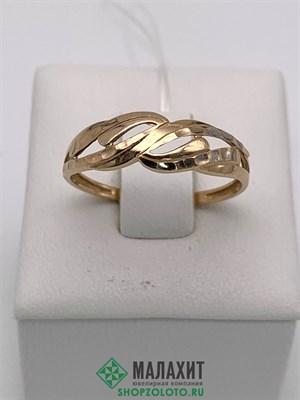 Кольцо из золота 1,2 гр., 18 размер