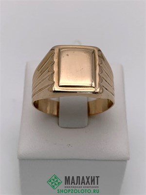 Кольцо из золота 5,02 гр., 21 размер