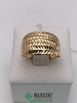 Кольцо из золота 1,94 гр., 18 размер