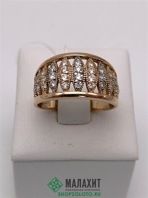 Кольцо из золота 4,1 гр., 17,5 размер