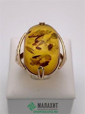 Кольцо из золота 6,53 гр., 18 размер