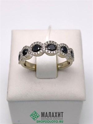 Кольцо из золота 3,02 гр. с бриллиантами, 17 размер