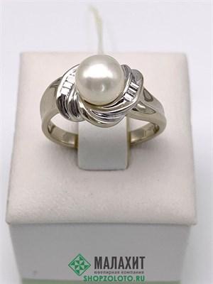 Кольцо из золота 4,61 гр. с бриллиантами, 17 размер