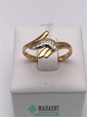 Кольцо из золота 2,1 гр., 18 размер