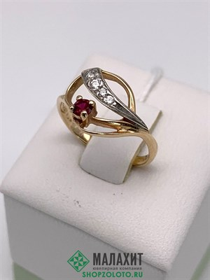 Кольцо из золота 1,82 гр., 15,5 размер
