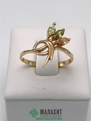 Кольцо из золота 1,76 гр., 17,5 размер