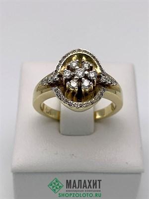 Кольцо из золота 5,62 гр. с бриллиантами, 17 размер