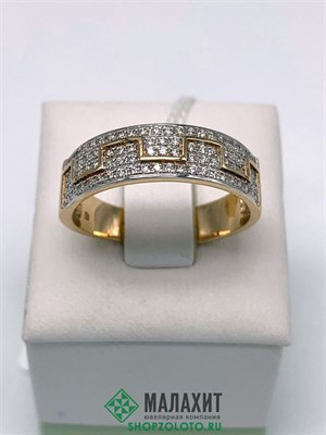 Кольцо из золота 4 гр., 19,5 размер