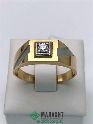 Кольцо из золота 4,87 гр. с бриллиантами, 21 размер
