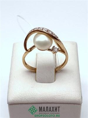 Кольцо из золота 2,42 гр., 17 размер