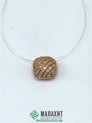 Подвеска из золота 0,47 гр. с бриллиантами