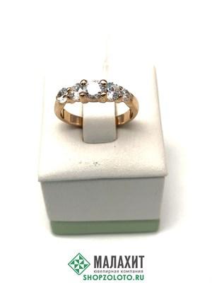 Кольцо из золота 3,43 гр., 16,5 размер