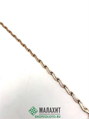 Браслет из золота 4,65 гр., 19 размер