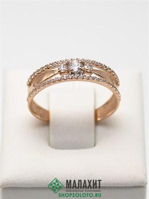 Кольцо из золота 1,9 гр., 17,5 размер