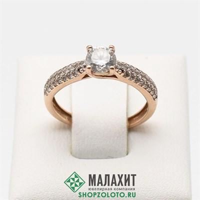 Кольцо из золота 1,96 гр., 16 размер