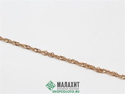 Браслет из золота 2,56 гр., 18 размер