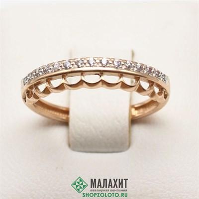 Кольцо из золота 1,58 гр., 16,5 размер