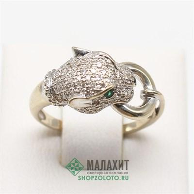 Кольцо из золота 3,24 гр. с бриллиантами, 17 размер