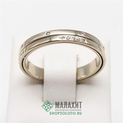 Кольцо из золота 5,25 гр. с бриллиантами, 21 размер