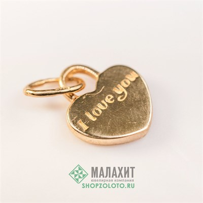 Подвеска из золота 0,67 гр.