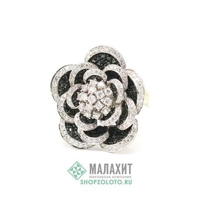 Кольцо из золота 19,44 гр. с бриллиантами, 20,5 размер