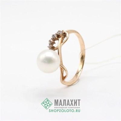 Кольцо из золота 2,6 гр., 17,5 размер