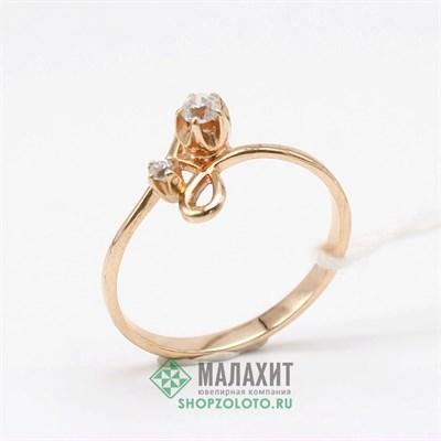 Кольцо из золота 1,69 гр., 17,5 размер
