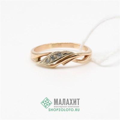 Кольцо из золота 1,87 гр., 16 размер