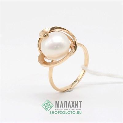 Кольцо из золота 4,63 гр., 18 размер