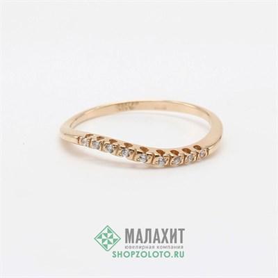 Кольцо из золота 1,24 гр., 17,5 размер