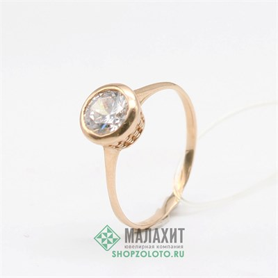 Кольцо из золота 1,84 гр., 17 размер