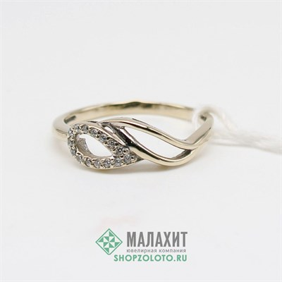 Кольцо из золота 1,9 гр., 17 размер